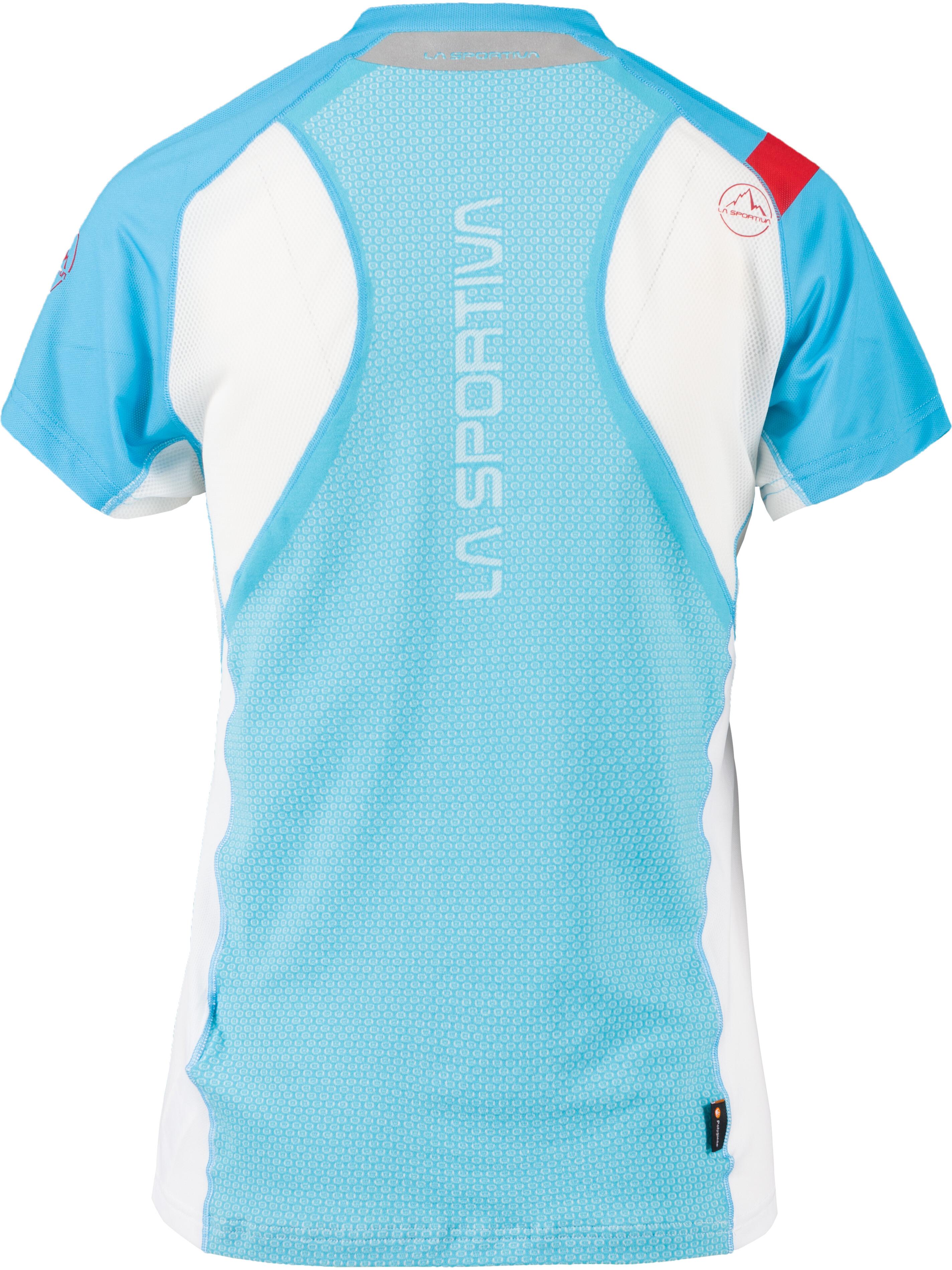 La Sportiva Veloce T-Shirt Donna, malibu blue/white (2020) 852112 9ZyNG